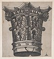 Speculum Romanae Magnificentiae- Capital with heads and masks MET DP870191.jpg