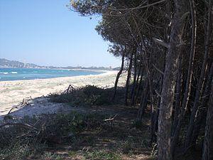 Lotzorai - Image: Spiaggia isula manna marina di Lotzorai