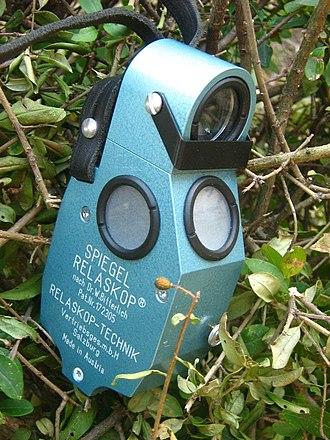 Relascope - a Relascope (Spiegelrelaskop)