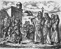 Srbi primaju Hristovu veru, K. Mandrović (1885).jpg
