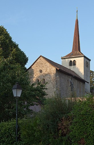 Saint-Prex - Swiss Reformed Church of Notre-Dame