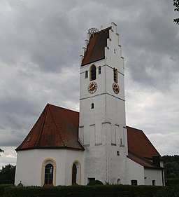 Kirchenstraße in Erdweg