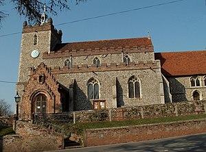 Pebmarsh - Image: St. John the Baptist church, Pebmarsh, Essex geograph.org.uk 137334