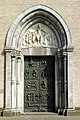 St. Kunibert Köln - Westportal von Toni Zenz.jpg