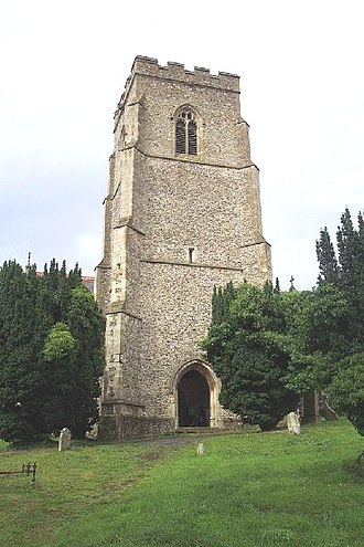 Clopton, Suffolk - Image: St. Mary, Clopton geograph.org.uk 119739