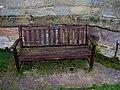St. Saviour's Church, seat in churchyard - geograph.org.uk - 1175567.jpg