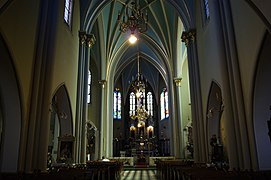 StVincent de Paul Church (inside), 19 sw. Flipa street, Kleparz, Krakow, Poland.jpg