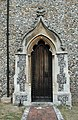 St Andrew and St Mary, Watton-at-Stone, Herts - Doorway - geograph.org.uk - 356511.jpg