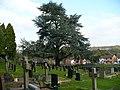 St Basil's churchyard, Bassaleg - geograph.org.uk - 1038072.jpg
