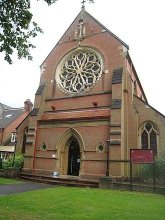 St. Edmund Church, Southampton - Image: St Edmund's Church, Southampton