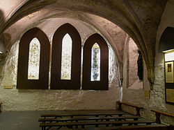 St Mary's Abbey Dublin, ChapterHouse.jpg