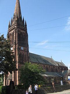 St Marys Church, Handbridge Church in Cheshire, England