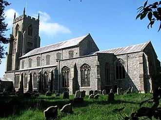 North Elmham - St Mary's church, North Elmham