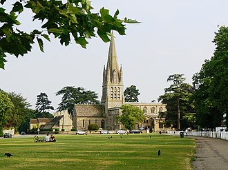 Witney - Image: St Mary the Virgin Church, Church Green, Witney geograph.org.uk 247742