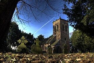 St Werburghs Church, Warburton Church in Greater Manchester, England