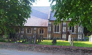 Milford, Surrey - Image: St johns church milford