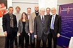 Stadtkulturpreis Hannover 2013 (001) v.l. Roger Cericius, Christopher Salzbrunn, Gil-Maria Koebberling, Uwe Thedsen, Jörn Marcussen-Wulff, Reinhard Scheibe, Nicolas Sempff und Bernd Strauch.jpg