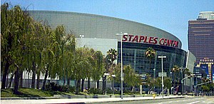English: Staples Center in the daytime, as pho...