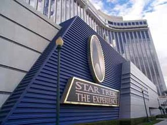 Star Trek: The Experience - The view from the outside of the Las Vegas Hilton
