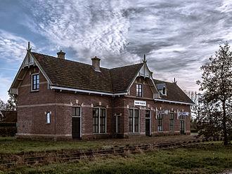 Marrum - Image: Station Marrum Westernijkerk