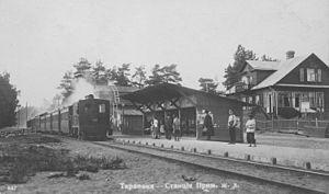 Tarkhovka - Station in 1904