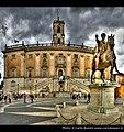 Statua di Marco Aurelio in Campidoglio (Roma) (4679545703).jpg