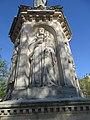 Statue St Bernard de Clairvaux Dijon 033, Suger de Saint-Denis.jpg