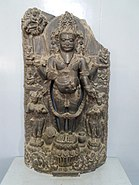 Statue of Brahma from Simroungarh at National Museum Kathmandu.jpg