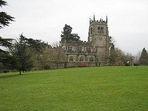 Staunton Harold - Holy Trinity Chapel seen from the north