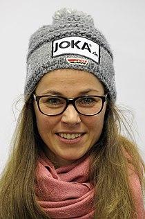 Stefanie Böhler bei der Olympia-Einkleidung Erding 2014 (Martin Rulsch) 01.jpg