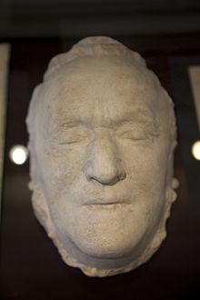 Totenmaske Richard Wagners (Reuter Villa, Eisenach) (Quelle: Wikimedia)