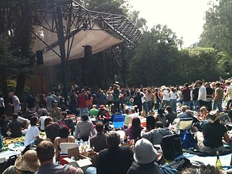 Stern Grove Festival - Near the stage