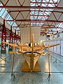 Stern of a reconstructed Navis lusoria ship in the Museum of Ancient Seafaring, Mainz, Germany (48988281601).jpg