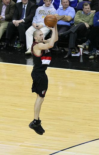 Steve Blake - Blake with the Portland Trail Blazers