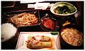 Stir-fried pork & bean sprouts dinner set ?, Misoshiru-ya AKIBA ICHI shop (豚もやし炒め定食? - おほー - 味噌汁屋 AKIBA ICHI店) (2011-06-15 21.32.49 by yuiseki aoba).jpg
