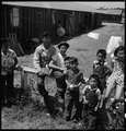 Stockton, California. Young persons of Japanese ancestry, second and third generation Americans. T . . . - NARA - 537722.tif