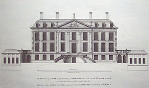 Williamite - Stoke House (1695) in Vitruvius Britannicus I (1715)