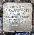 Stolperstein Bruchsaler Str 12 (Wilmd) Elsa Rosenhain.jpg