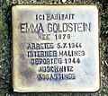 Stolperstein Emma Goldstein (Liège).jpg