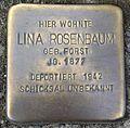 Stolperstein Hennef Bonner Straße 71 Lina Rosenbaum.jpg