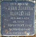 Stolperstein Köln, Anna Johanna Blumenfeld (Robert-Heuser-Straße 3).jpg