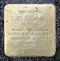 Stolperstein Karl-Marx-Allee 3 (Mitte) Laib Brokman.jpg