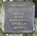 Stolperstein Levetzowstr 11a (Moabi) Gertrud Walter.jpg