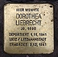 Stolperstein Mainzer Str 15 (Wilmd) Dorothea Liebrecht.jpg
