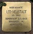 Stolperstein Pariser Str 11 (Wilmd) Leo Neustadt.jpg