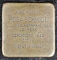 Stolperstein Remscheid Blumenstraße 2 Rosa Schmidt.jpg