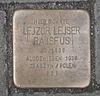 Stolpersteine für Lejzor Lejser Rajsfus