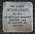 Stolperstein fü Hedwig Linker.JPG