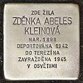 Stolperstein für Zdenka Abeles Kleinova.jpg