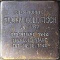Stumbling stone for Eugen Goldfisch (Sternengasse 27)